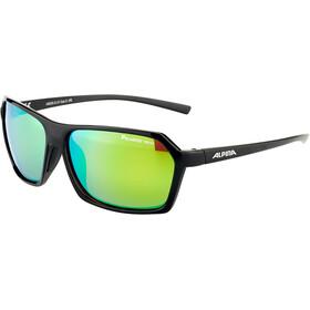 Alpina Finety P Cykelbriller, black-black matt